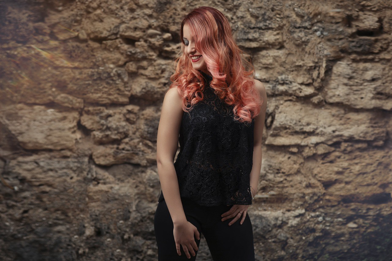 cabelo rosé