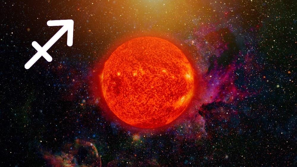 características do sol em sagitário