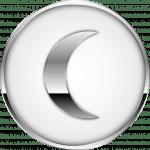 símbolo lua